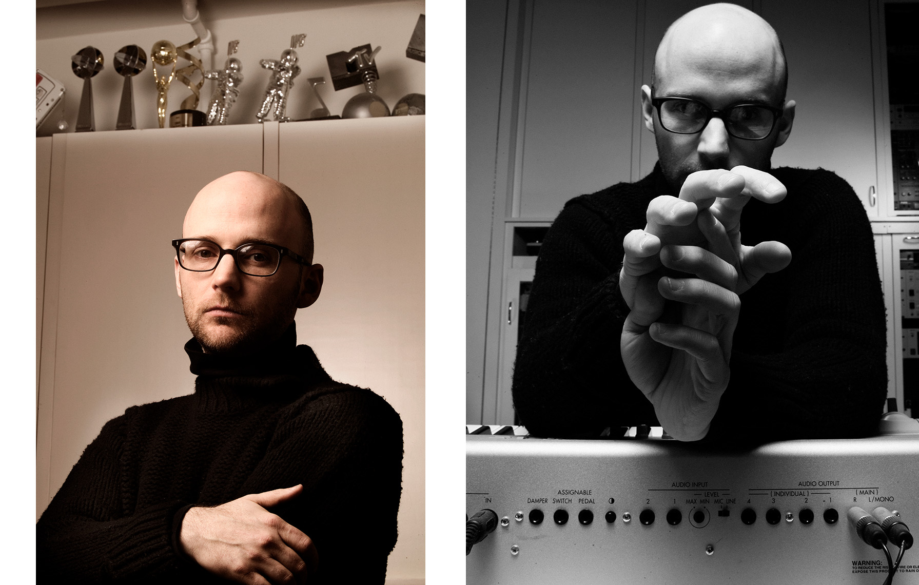 Moby - New York Portrait